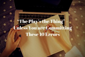 Top Screenwriting Errors