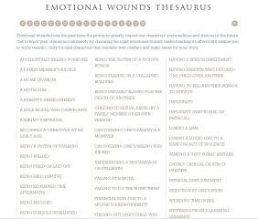 emotional-wound-thesaurus