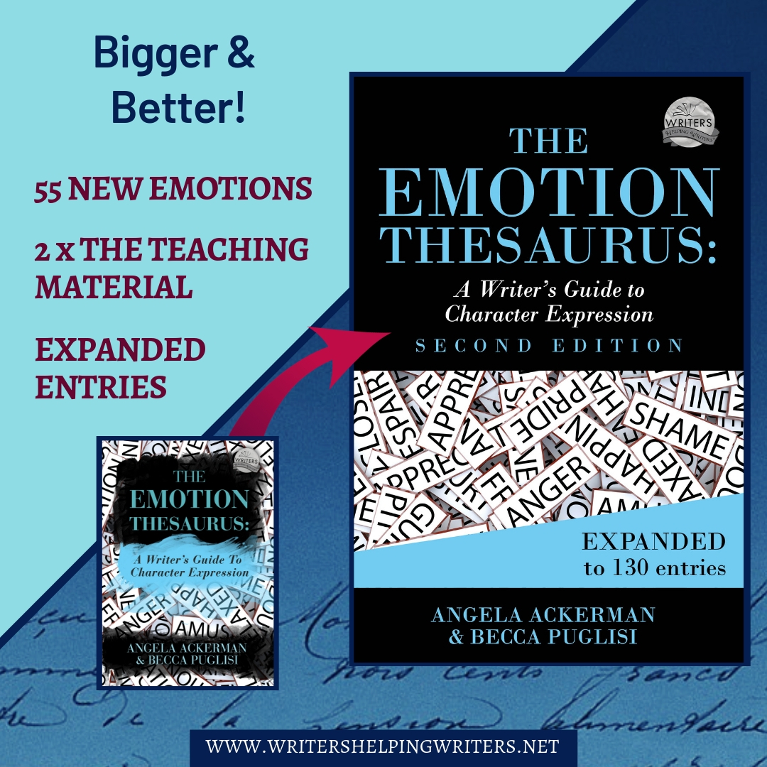 The Emotion Thesaurus: A Writers Guide To Character Expression
