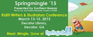 Springmingle banner graphic