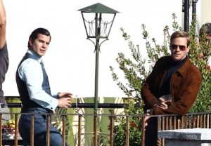 Solo and Kuryakin, the opposing personalities. Image from The Man from U.N.C.L.E.