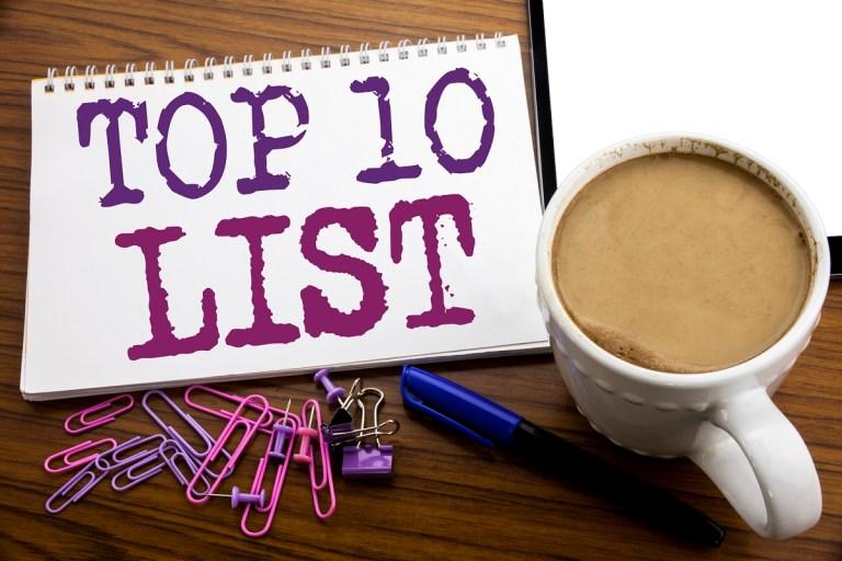 Top 10 List