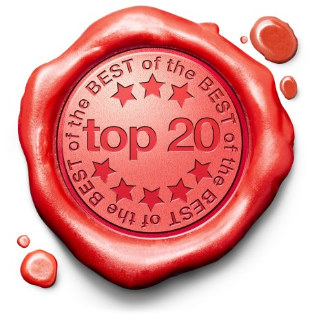 Top 20 List