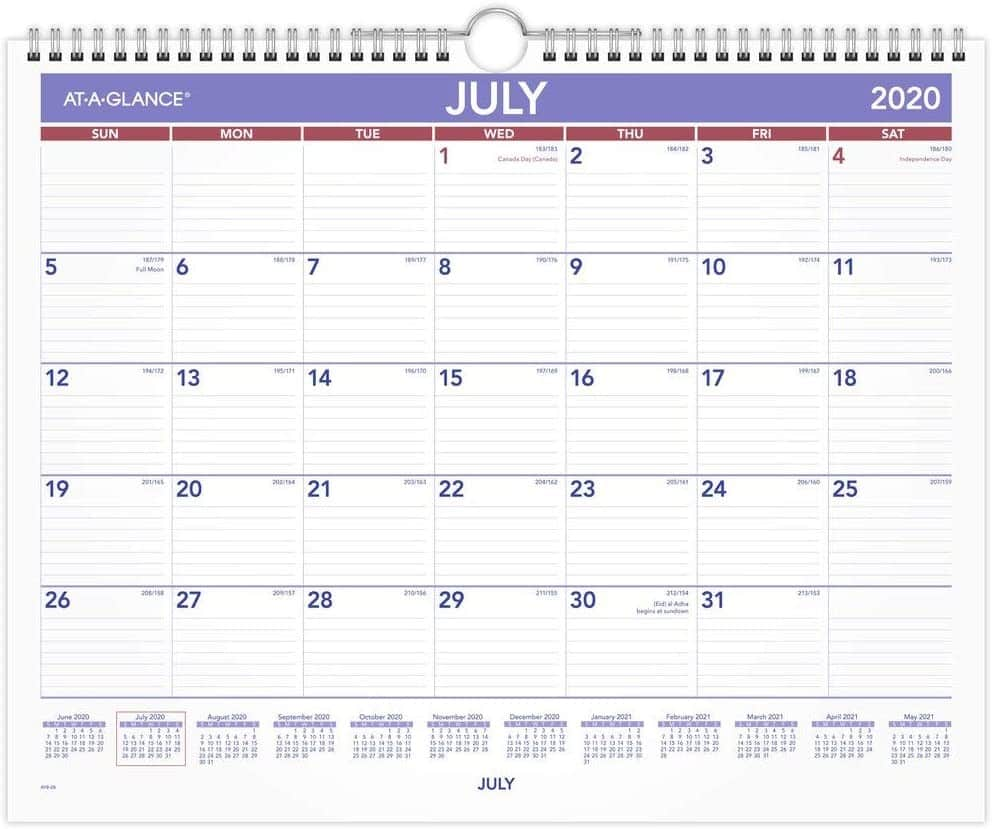 At a Glance Calendar