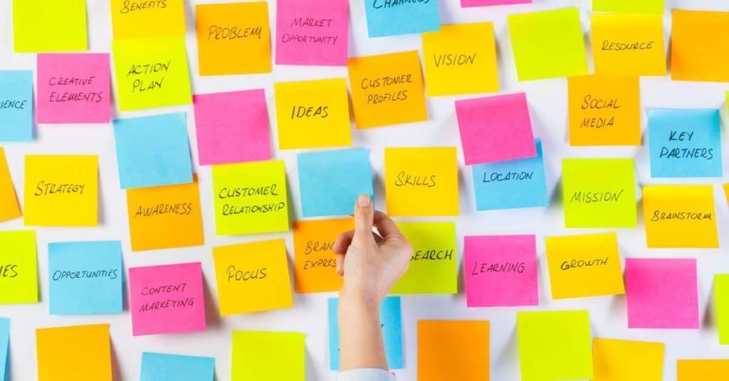 brainstorming for your blog post outline