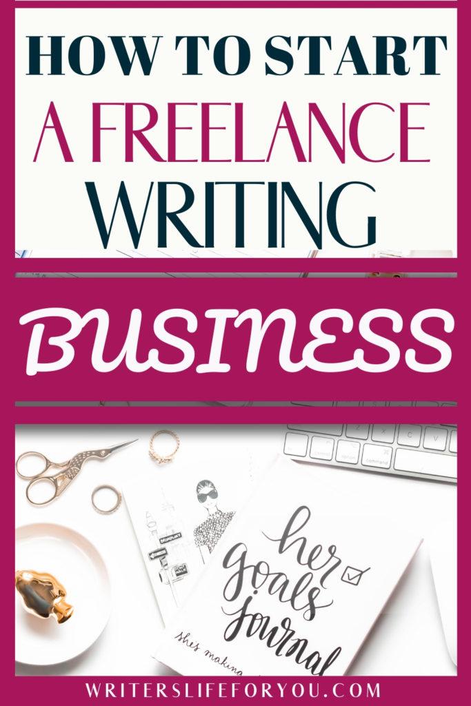 run a freelance writing business