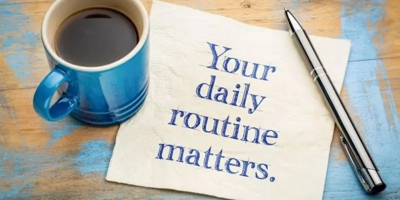 how to plan a week to be productive daily routine