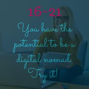 potential digital nomad