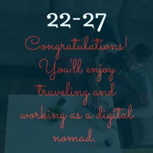 you're a digital nomad