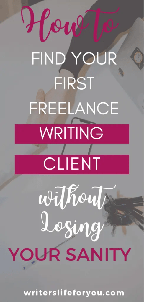 freelance writing clients pinterest image