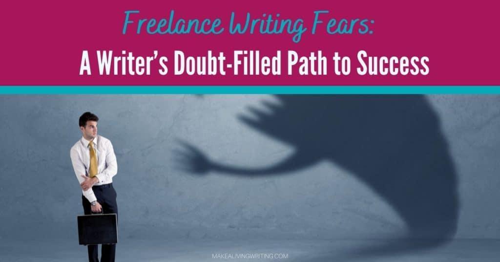 freelance writing fears