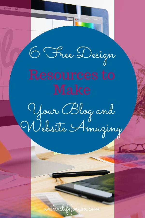 6 Free Design Resources to Make Your Blog and Website Amazing
