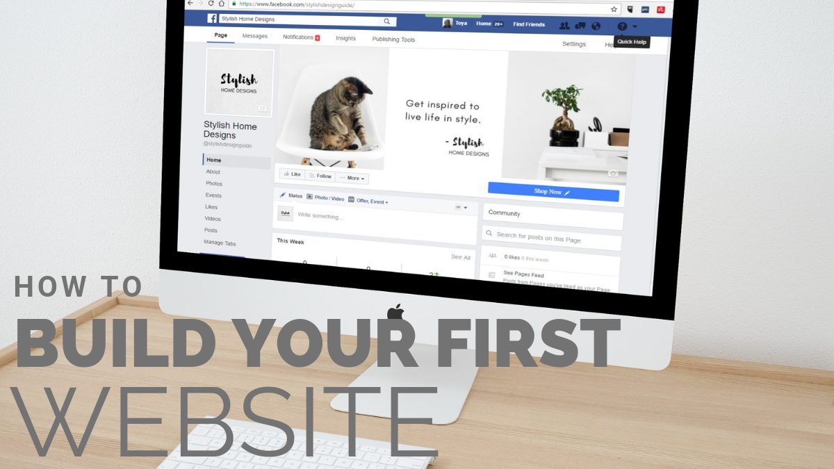 build-your first-website