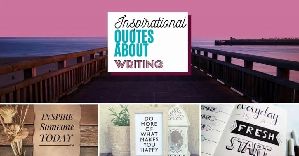 Inspirational Quotes About Writing boardwalk with ocean picture