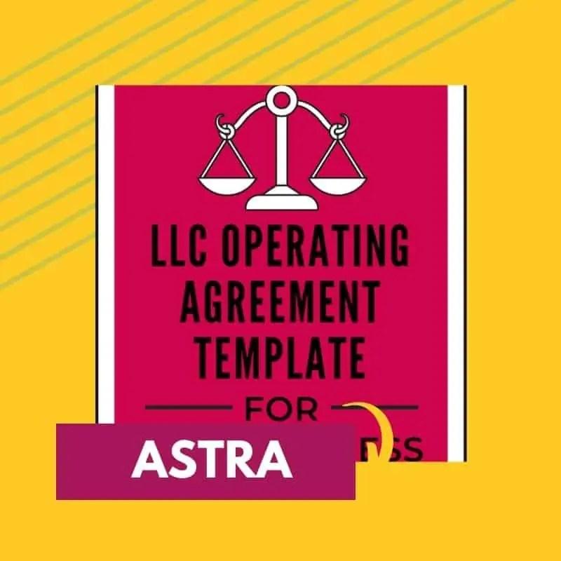 LLC agreement image