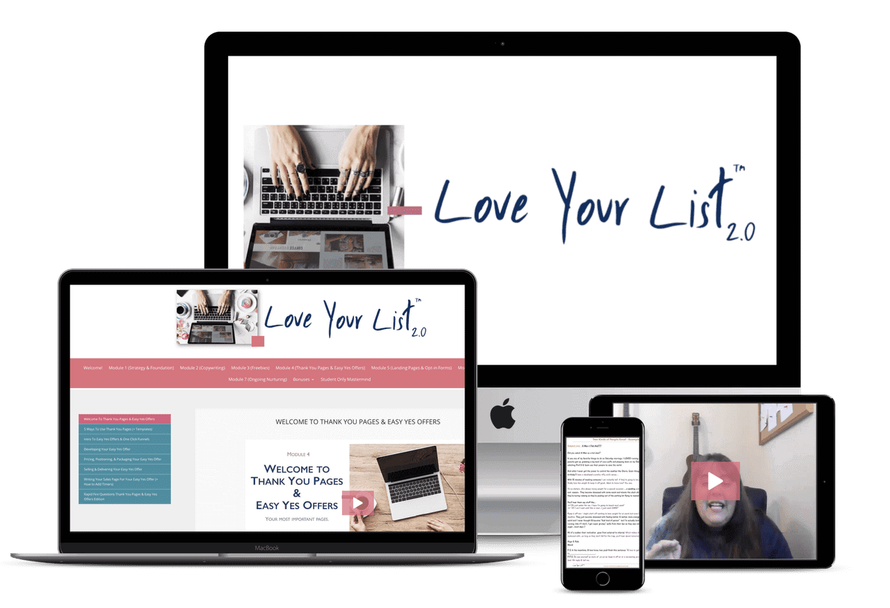 Love your list Mock Up aAte Doster
