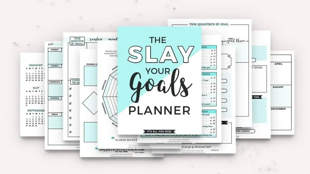 SYG Planner Pages Preview (v. 3.0)