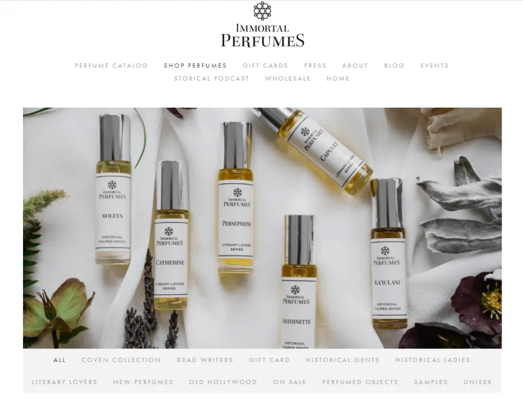 Dead Poets Perfume