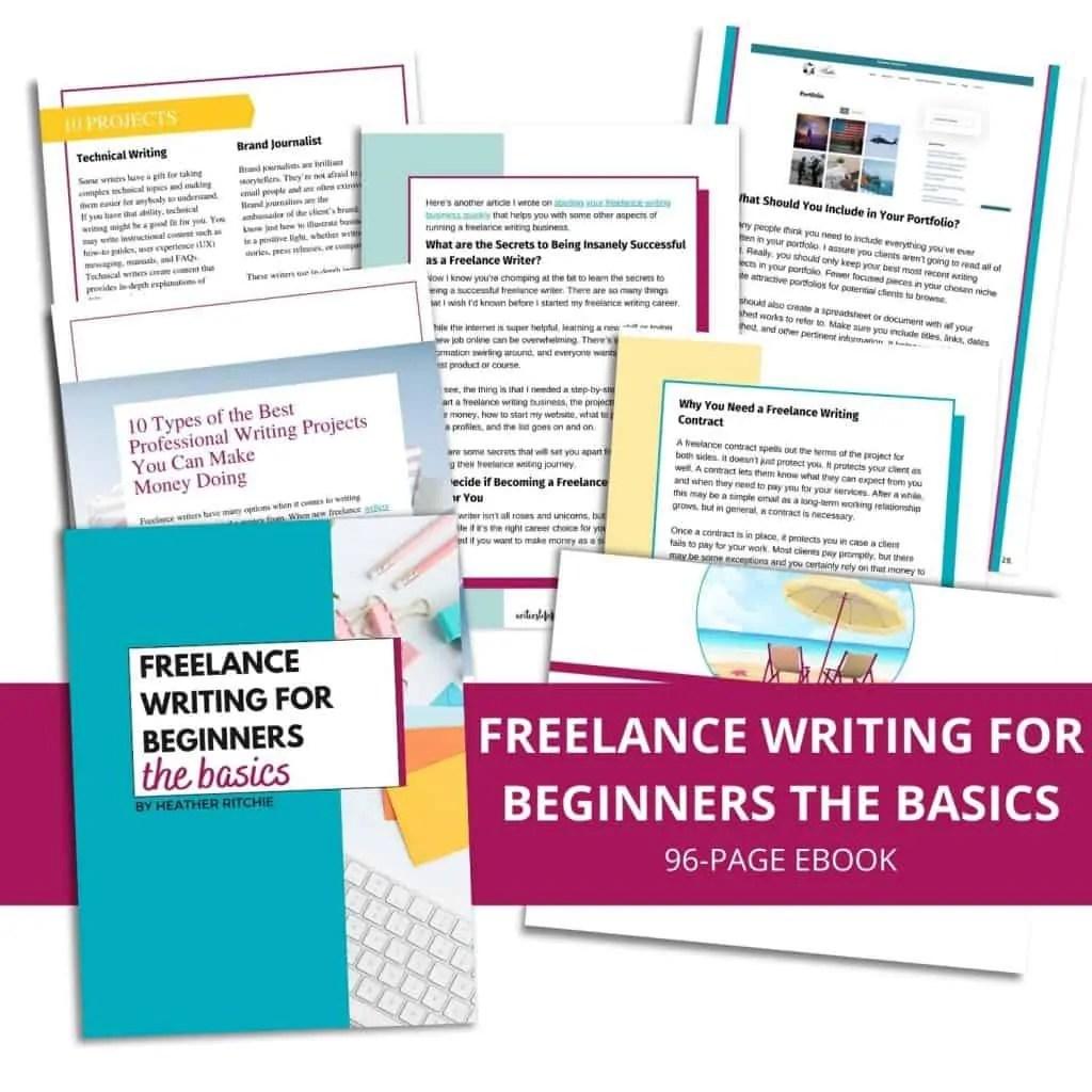 freelance writing for beginners: the basics