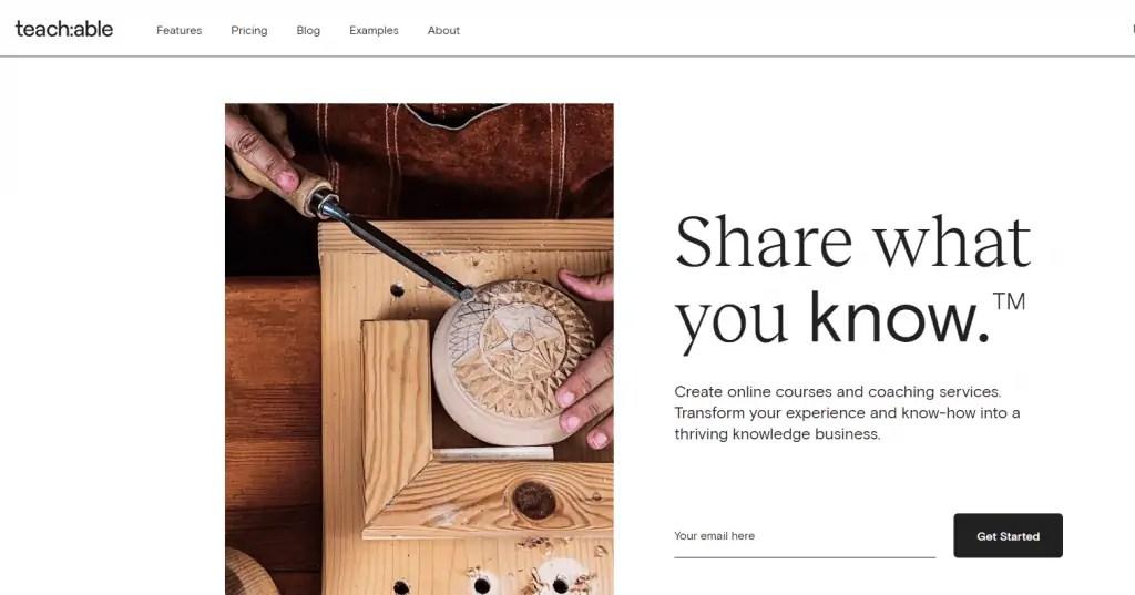 Teachable Home Page