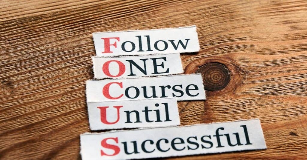 time management strategies focus