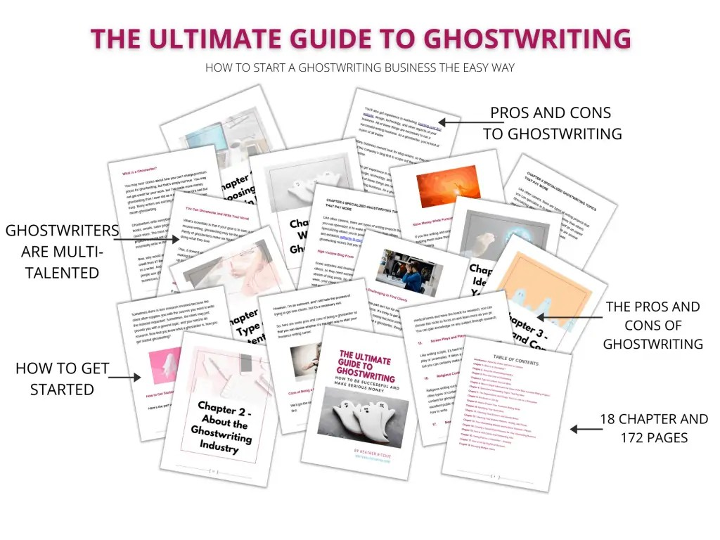 The Ultimate Guide to Ghostwriting hero mockup