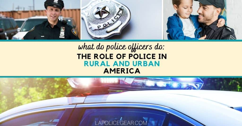 WHAT DO POLICE OFFICERS DO