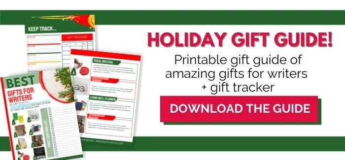 best gift for writers holiday opt-in