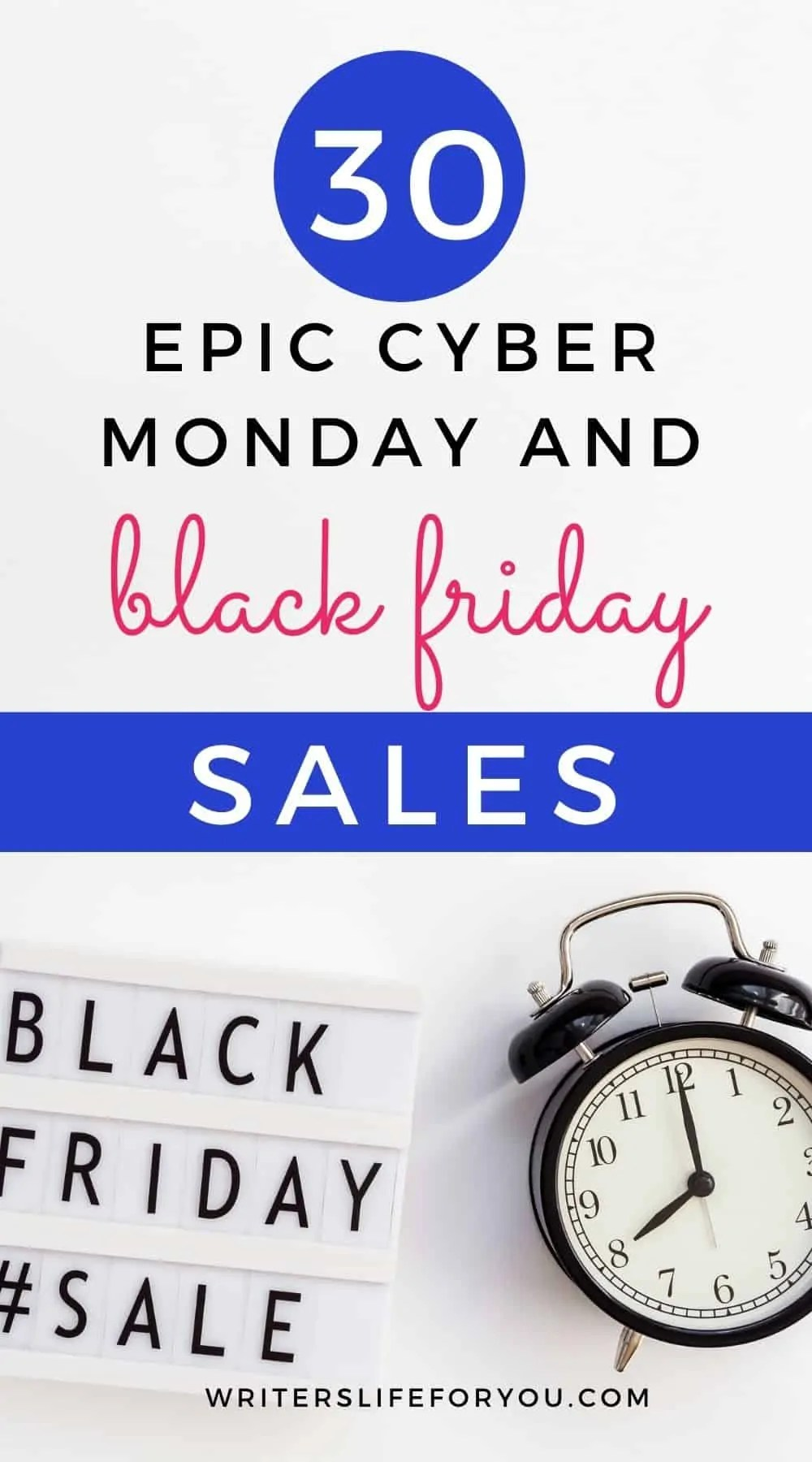 30+ Epic Black Friday Deals for Bloggers and Freelance Writers