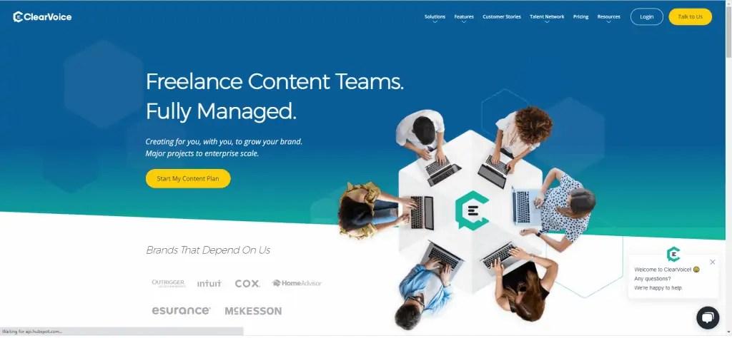clearvoice website