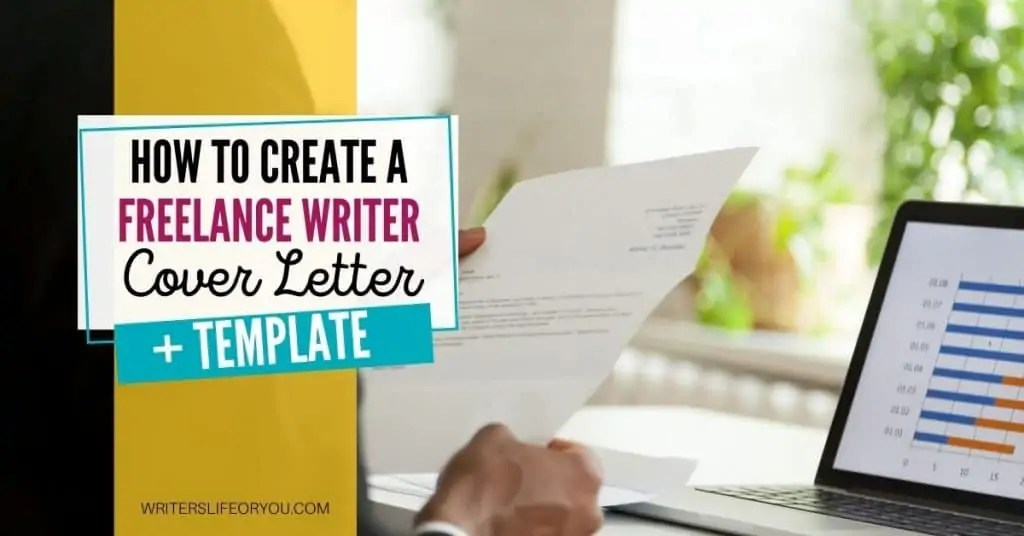 cover letter for freelance writer man at a desk with letter