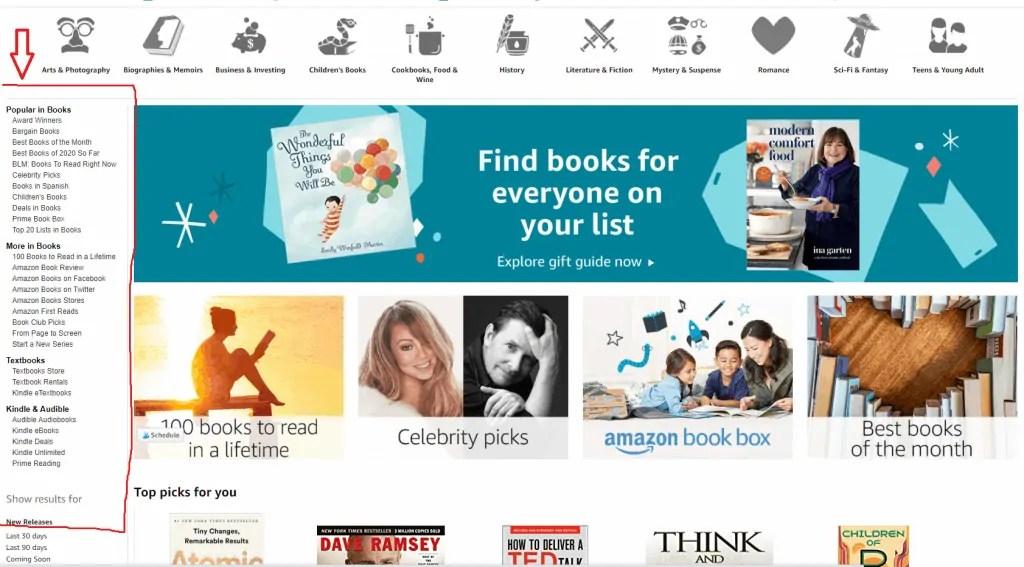 find a profitable niche-Amazon sub-niches