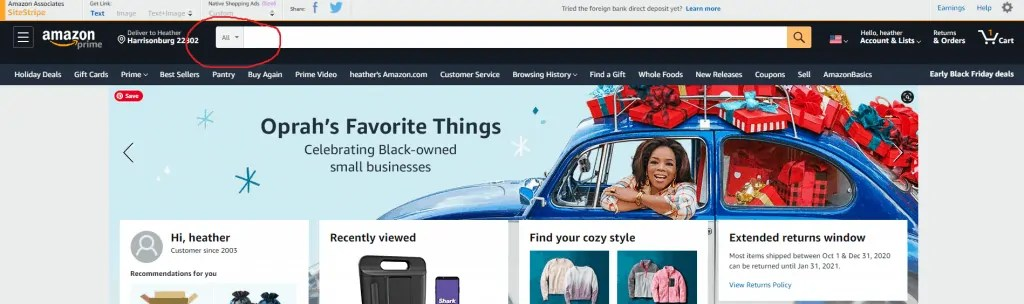 find a profitable niche article-Amazon