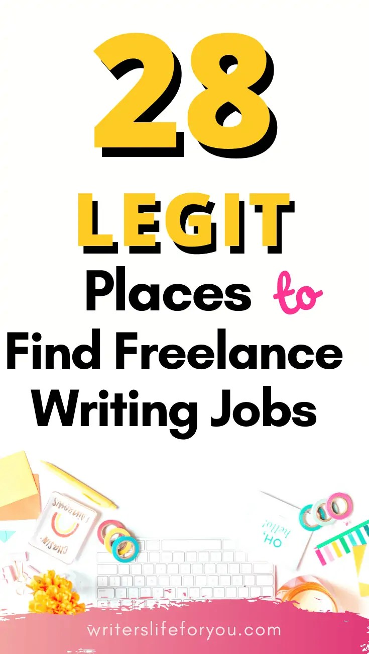 28 Of The Best Websites That Make Finding Freelance Writing Jobs For Beginners Easy