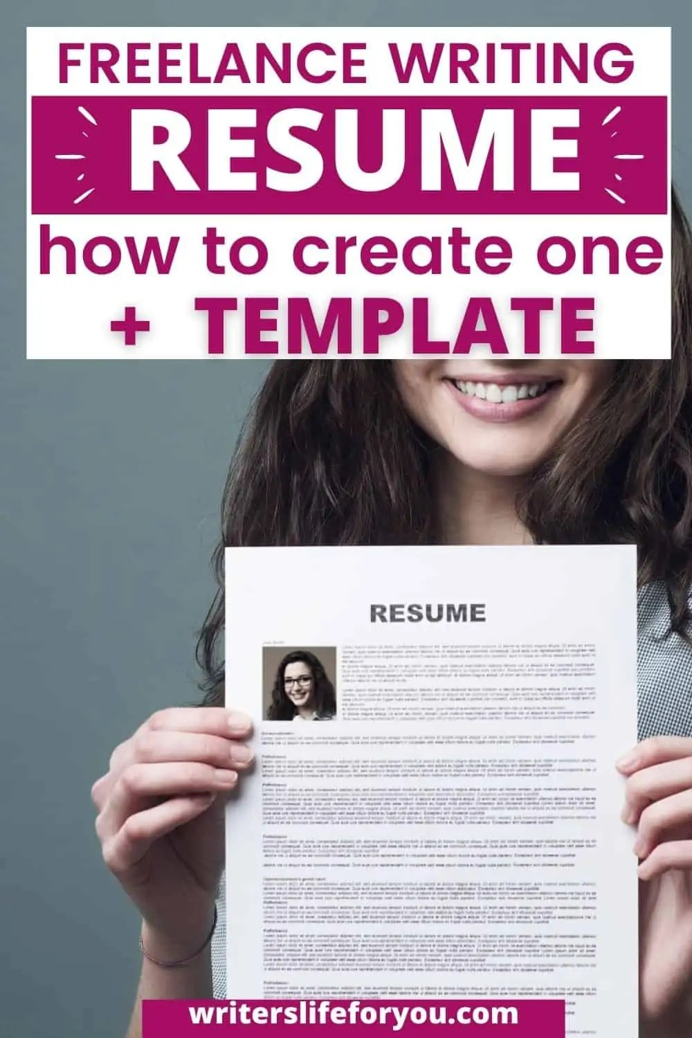 How to Create a Professional Freelance Writing Resume that Wins You the Job