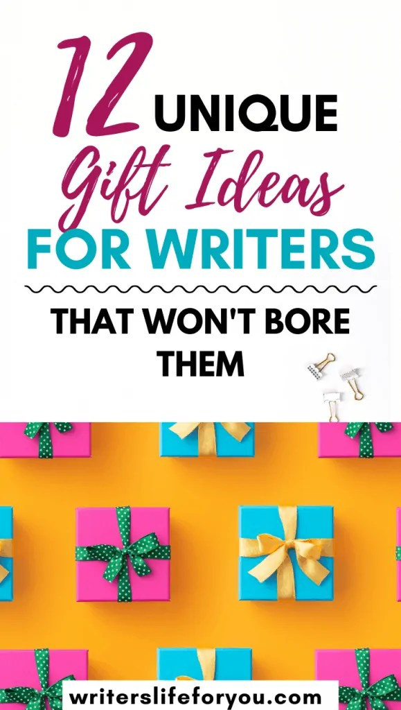 gifts for aspiring writers