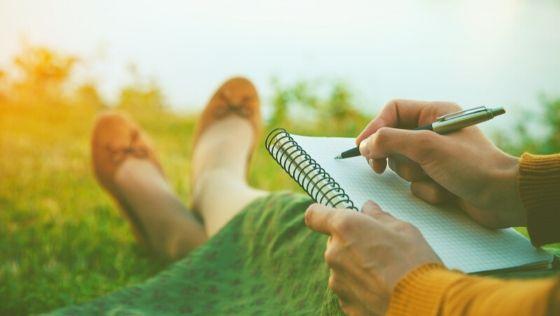 ghostwriter writing outside