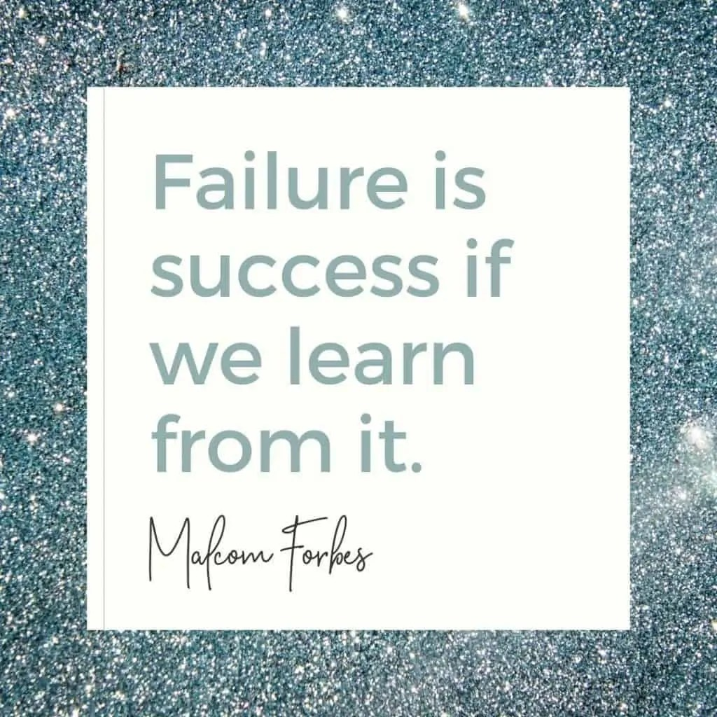 how to deal with failure malcolm forbes