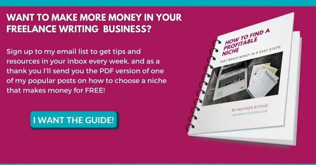 how to find a profitable niche email opt-in image