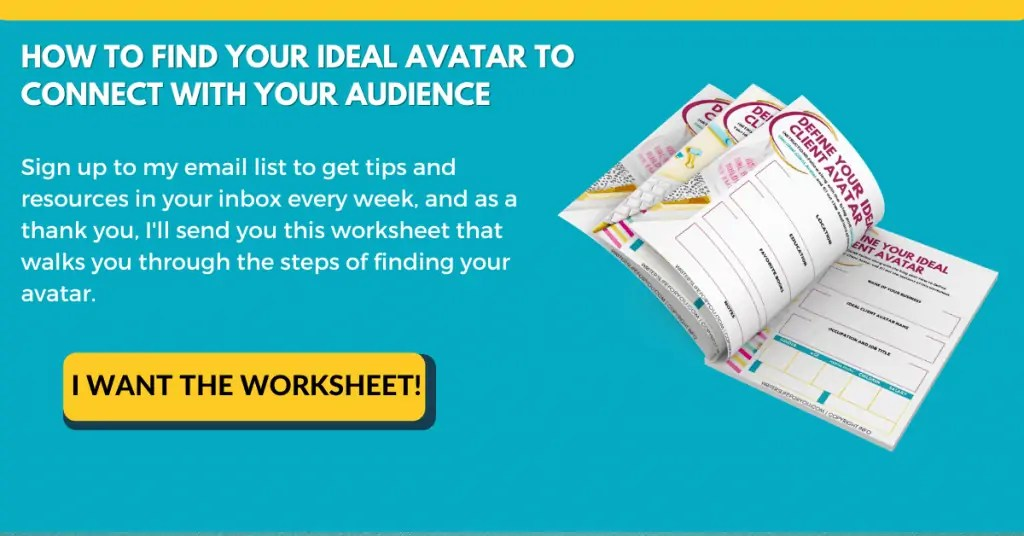 how to find ideal avatar email opt-in