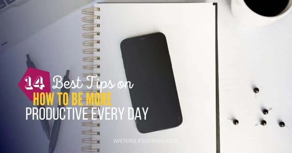 how to plan your week to be productive notebook, pens, and smart phone
