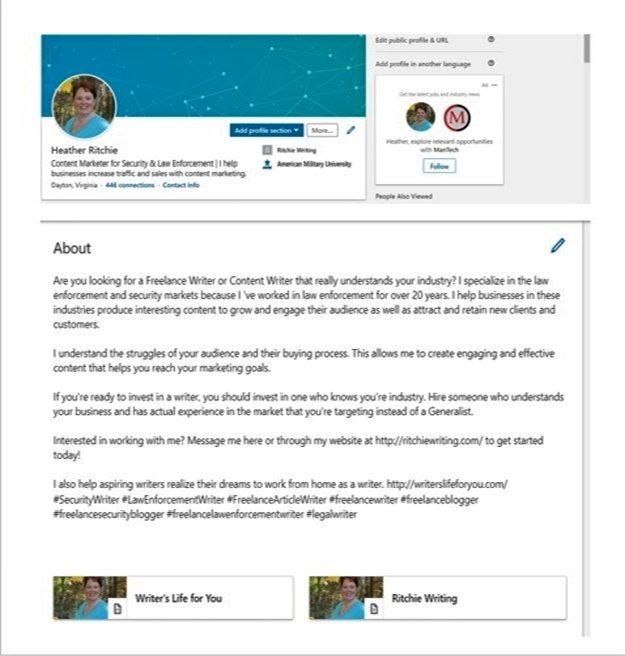 heather ritchie linkedin profile