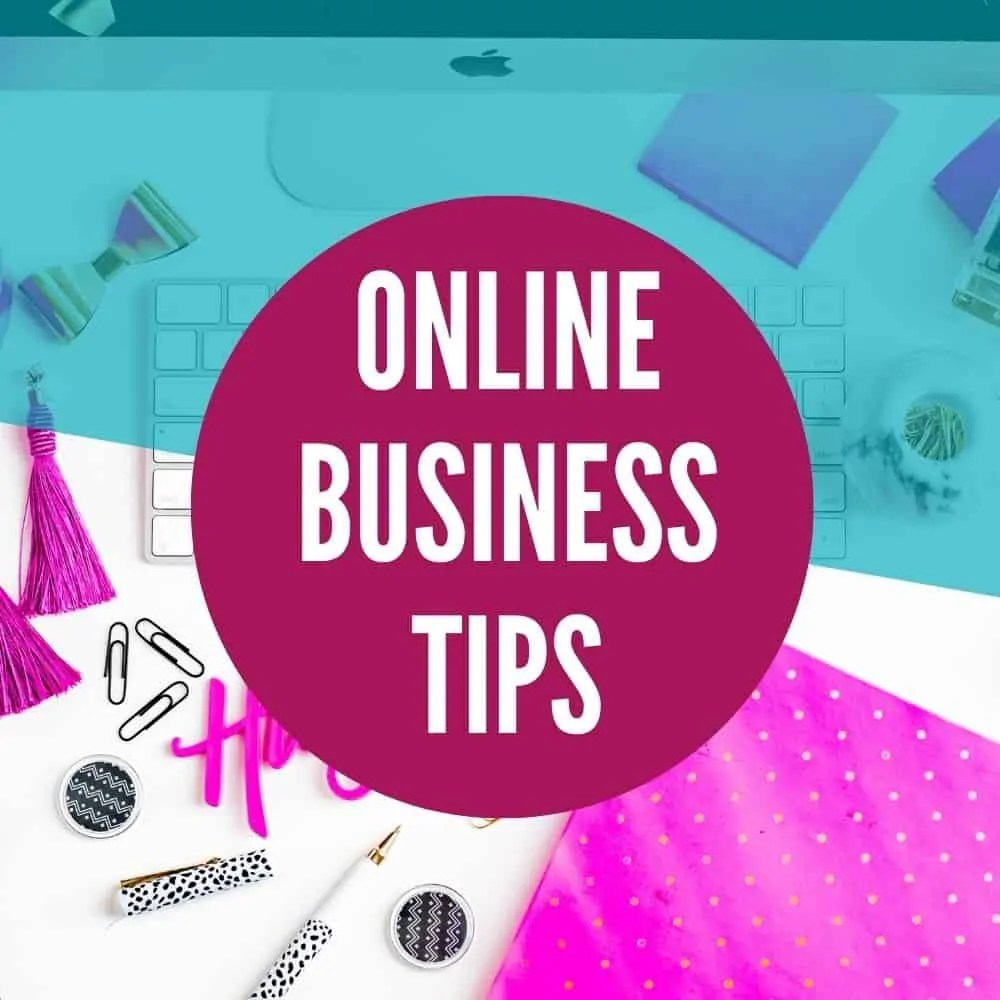 online business tips category