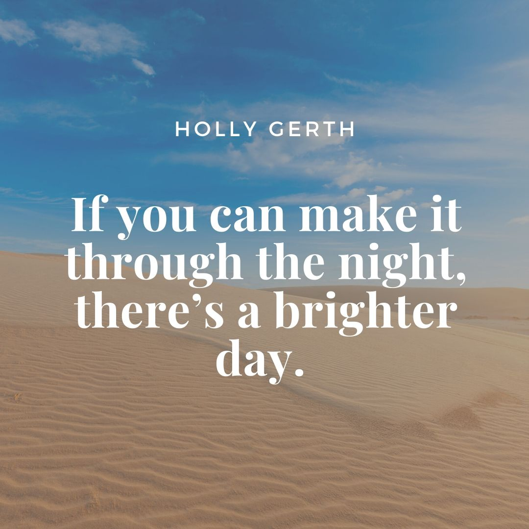 Holly Gerth quote
