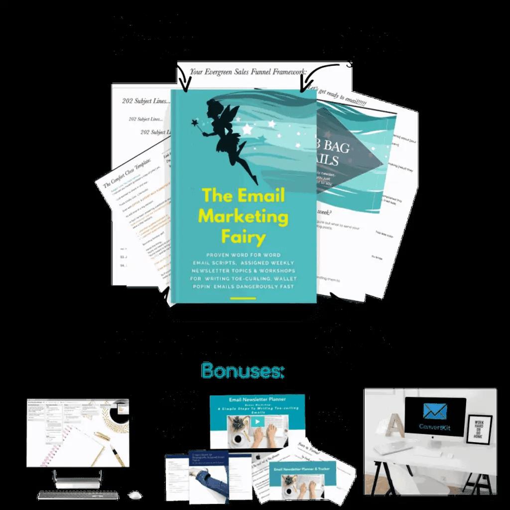 the email marketing fairy + bonuses