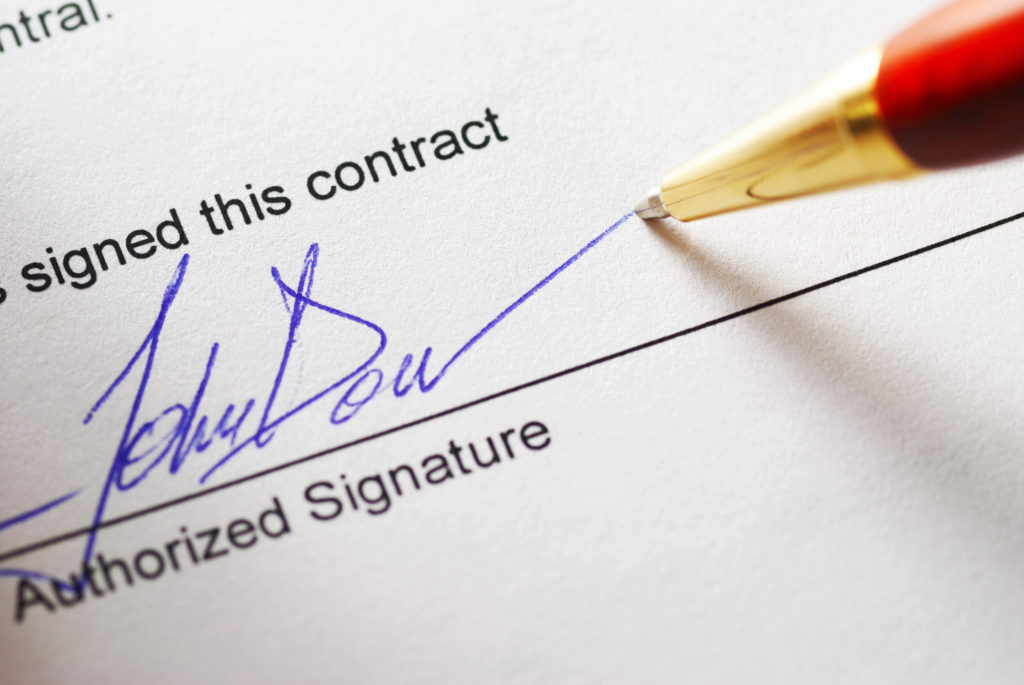 freelance writing contract