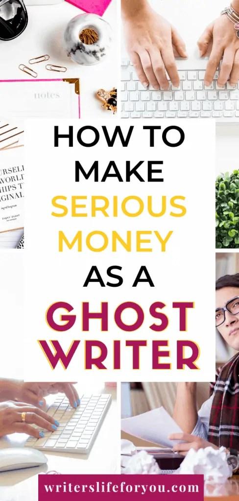 be a ghostwriter
