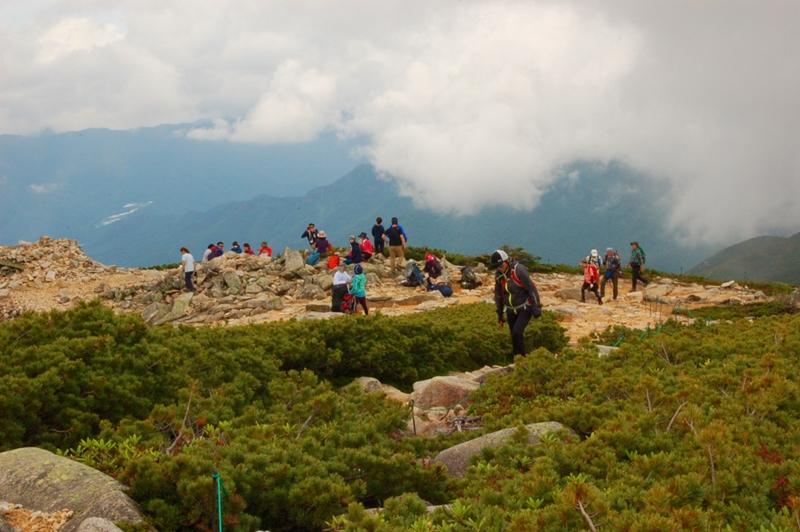 金峰山から大弛峠