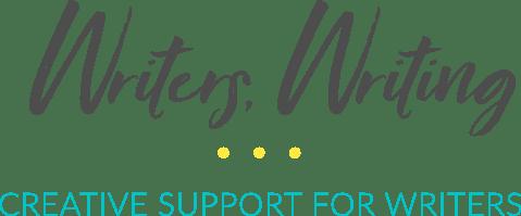 writers writing logo