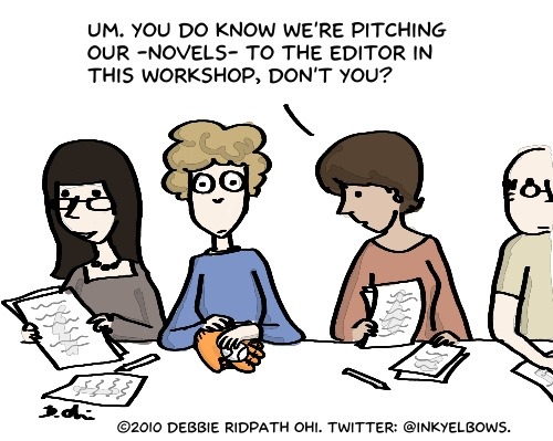 """Comic: """"The Pitch Session"""""""